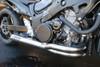 "TiWinder Polished Full System w/ 18"" Muffler Street Baffle Hayabusa (99-19)"