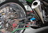 "Alien Head Full System  20"" Muffler ZX-12 (00-05)"