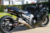 "CT Single Full System w/ 16"" QuietKore Muffler ZX-14 (06-19)"