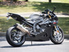 "CT Single Full System w/ 16"" QuietKore Muffler S1000RR (10-14) and S1000R (10-14)"
