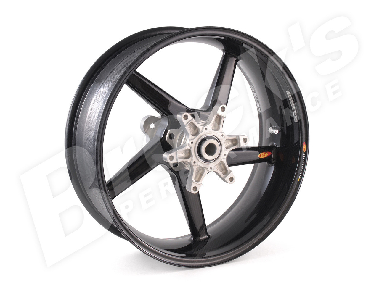 BST R+ Series Rear Wheel 6 625 x 17 for Suzuki Hayabusa (13-19) w/ ABS