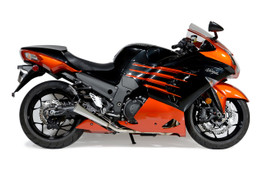 "Buy Alien Head 2 Full System 14"" Muffler ZX-14R (12-21) SKU: 397008 at the price of US$ 1279 