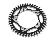 Buy Vortex Rear Sprocket 40 Tooth Black & Silver 530 Chain Hayabusa (08-20) / GSX-R1000 (01-08) 455371 at the best price of US$ 74.95 | BrocksPerformance.com