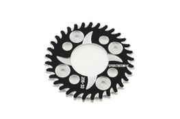 Buy Vortex Rear Sprocket 33 Tooth Black & Silver 420 Chain Grom/MSX125 (14-20) / Monkey (2019) SKU: 455605 at the price of US$ 59.95 | BrocksPerformance.com