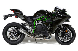 "Buy Alien Head 2 Full System Polished 14"" Muffler Ninja H2 (15-20) 398425 at the best price of US$ 1899 