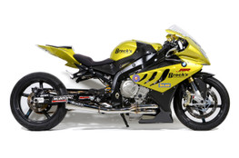 """Buy Sidewinder Full System 14"""" Muffler S1000RR (10-19) and S1000R (14-20) 398178 at the best price of US$ 1289   BrocksPerformance.com"""