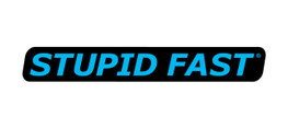 Buy Stupid Fast Decal - Blue/Black SKU: 903392 at the price of US$  0.25 | BrocksPerformance.com