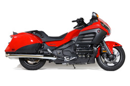 Buy Slip-On System w/ Polished Stainless Muffler Gold Wing (12-17) SKU: 570335 at the price of US$ 1199 | BrocksPerformance.com