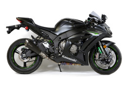Buy Predator Slip-On (3/4 System) w/ Electro-Black Stainless Muffler ZX-10R (16-20) SKU: 570764 at the price of US$  899 | BrocksPerformance.com