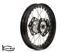 Front Kineo Wire Spoked Wheel - BMW S1000RR (10-19) and S1000R (14-20) - 3.50 x 17""