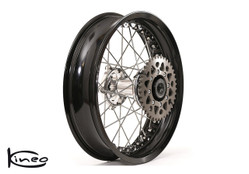 """Buy Rear Kineo Wire Spoked Wheel - BMW S1000RR (10-20) and S1000R (14-20) - 6.00 x 17"""" SKU: 281222 at the price of US$ 1595 