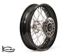 Rear Kineo Wire Spoked Wheel - BMW R9T (2013-19) - 6.00 x 17.0