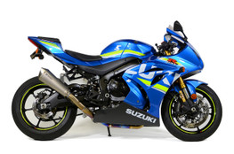 Buy Predator Full System - Ti Front Section w/ Titanium Muffler GSX-R1000/R (17-20) 571205 at the best price of US$ 1899 | BrocksPerformance.com