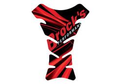 Buy Universal Gel Tank Pad Red w/ Brock's Logo 771331 at the best price of US$ 19.99 | BrocksPerformance.com