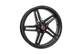 Buy BST Rapid TEK 17 x 3.5 Front Wheel - Kawasaki ZX-14/R (06-21) / ZX-10R (06-15) / ZX-6R and ZX636 (05-20) SKU: 170326 at the price of US$ 1549 | BrocksPerformance.com