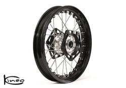 Buy Front Kineo Wire Spoked Wheel 3.50 x 17.0 Triumph Thruxton/ThruxtonR (1200cc lc) (16- ) SKU: 287163 at the price of US$  1295   BrocksPerformance.com