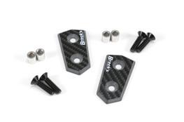 Mirror Block Off Plate Set Carbon Fiber S1000RR (10-19) and HP4 (12-15)