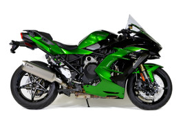 Buy Predator Slip-On System w/ Titanium Muffler Ninja H2 SX / SE / SE+ (18-21) SKU: 571357 at the price of US$ 799 | BrocksPerformance.com