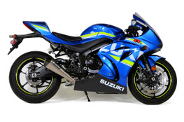 "Buy CT Megaphone Full System w/ 17"" Muffler GSX-R1000/R (17-20) SKU: 398763 at the price of US$  2199 