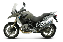 Buy Termignoni Oval Stainless Street Slip-On R 1200 GS (10-12) 753149 at the best price of US$ 599 | BrocksPerformance.com