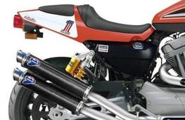 Buy Termignoni Round Dual Exhaust Slip-On XR1200 R 755008 at the best price of US$ 995 | BrocksPerformance.com