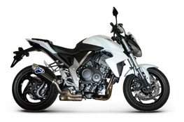 Buy Termignoni Oval Stainless/Carbon Slip-On CB1000R (08-17) 754046 at the best price of US$ 599 | BrocksPerformance.com
