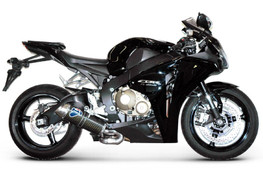 Buy Termignoni Oval Stainless/Carbon Slip-On CBR1000RR (08-11) 754059 at the best price of US$ 1095 | BrocksPerformance.com
