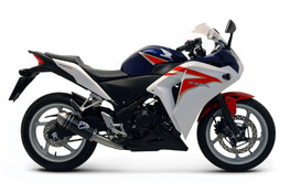 Buy Termignoni Relevance Stainless/Carbon Slip-On CBR250R (12-13) 754098 at the best price of US$ 445 | BrocksPerformance.com