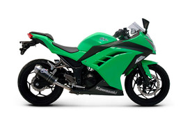 Termignoni Relevance Stainless/Carbon Slip-On Ninja 300 (12-17)