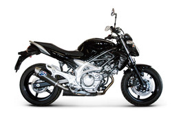 Buy Termignoni Oval Stainless/Carbon Slip-On Suzuki Gladius (09-18) 756191 at the best price of US$ 589 | BrocksPerformance.com