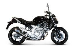 Buy Termignoni Oval Stainless/Carbon Slip-On Suzuki Gladius (09-18) SKU: 756191 at the price of US$  589 | BrocksPerformance.com