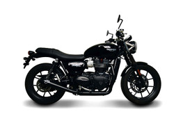 Termignoni Conical 2-1 Black Stainless Full System Street Twin 900 (16-18)