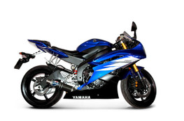 Buy Termignoni Round Stainless/Carbon GP Style Slip-On YZF-R6 (06-18) (Fits OEM and Y078 Collector) 756724 at the best price of US$ 525 | BrocksPerformance.com