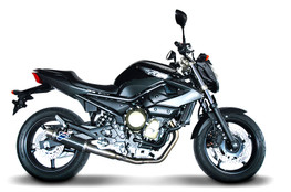 Termignoni Round Stainless/Carbon Full System XJ6 / Diversion (09-16)