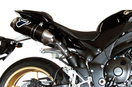 Buy Termignoni Oval Stainless/Carbon Dual Undertail Full Exhaust YZF-R1 (09-11) 756789 at the best price of US$ 2195 | BrocksPerformance.com