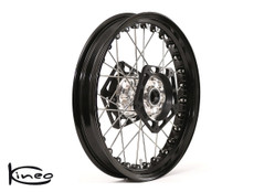 Buy Front Kineo Wire Spoked Wheel 3.50 x 17.0 Triumph Thruxton and Bonneville  (06-10) (models with mechanical speedometer) SKU: 286786 at the price of US$ 1295 | BrocksPerformance.com