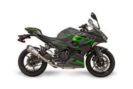 Buy Termignoni SO-01 Slip-On Titanium Sleeve w/ Carbon End Cap Ninja 400/Z400 (18- ) SKU: 758489 at the price of US$ 579 | BrocksPerformance.com