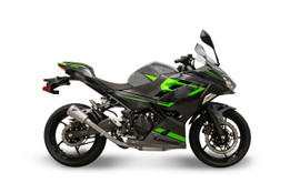 Buy Termignoni SO-03 Slip-On Stainless w/ Stainless End Cap Ninja 400/Z400 (18- ) 758515 at the best price of US$ 399 | BrocksPerformance.com