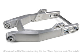 Buy Performance Dyna Swingarm (Burnished) for Harley-Davidson Dyna (00-17) 604387 at the best price of US$ 1299 | BrocksPerformance.com