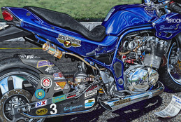 "Buy Brock's Bandit: Art by Eric Herrmann 8""x 12"" on Aluminum Titled ""Seven"" SKU: 600175 at the price of US$  45.95 | BrocksPerformance.com"
