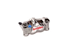 Brembo GP4-RX Left Front Caliper (Radial Mount) Nickel Plated