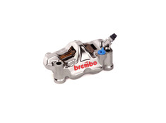 Brembo GP4-RX Right Front Caliper (Radial Mount) Nickel Plated