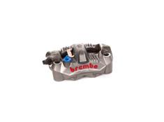 Brembo GP4-RS Left Front Caliper (Radial Mount) Titanium Grey