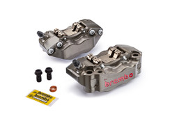 Brembo HPK-2 Front Caliper Set (Radial Mount) Hard Anodized