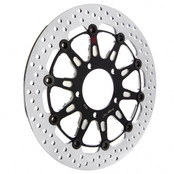 Buy Brembo Groove Front Brake Rotor for Harley-Davidson XL/XR (00-13), Dyna (00-05), Softail (00-14), and Touring (00-07) 705517 at the best price of US$ 364.95 | BrocksPerformance.com