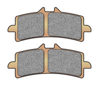 Buy Brembo Replacement Brake Pad Set (HH Rated Sintered) 705634 at the best price of US$ 79.95 | BrocksPerformance.com