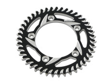 Buy Vortex Rear Sprocket 43 Tooth Black & Silver 525 Chain Katana (2020) SKU: 454786 at the price of US$  74.95 | BrocksPerformance.com
