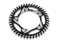 Buy Vortex Rear Sprocket 44 Tooth Black & Silver 525 Chain Katana (2020) 454799 at the best price of US$ 74.95 | BrocksPerformance.com