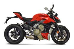 Buy Termignoni Dual Slip-On Exhaust Kit Ducati Streetfighter V4 (20-21) SKU: 753656 at the price of US$ 2595 | BrocksPerformance.com