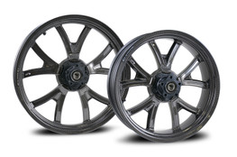"""Used for Display: BST Torque TEK Set Front 3.0"""" x 19.0"""" and Rear 5.5"""" x 18.0"""" Street Bob, Low Rider, and Super Glide (08-17)"""